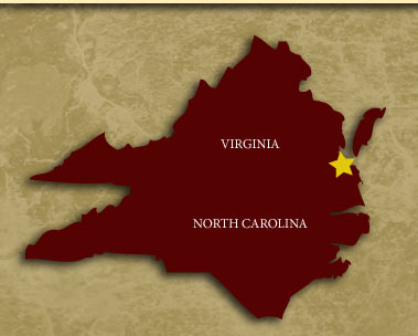 Virginia/ North Carolina coverage Map